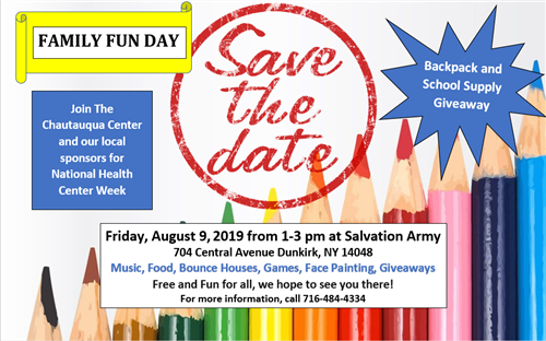 Save the date family fun day