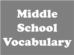 Middle School Vocabulary