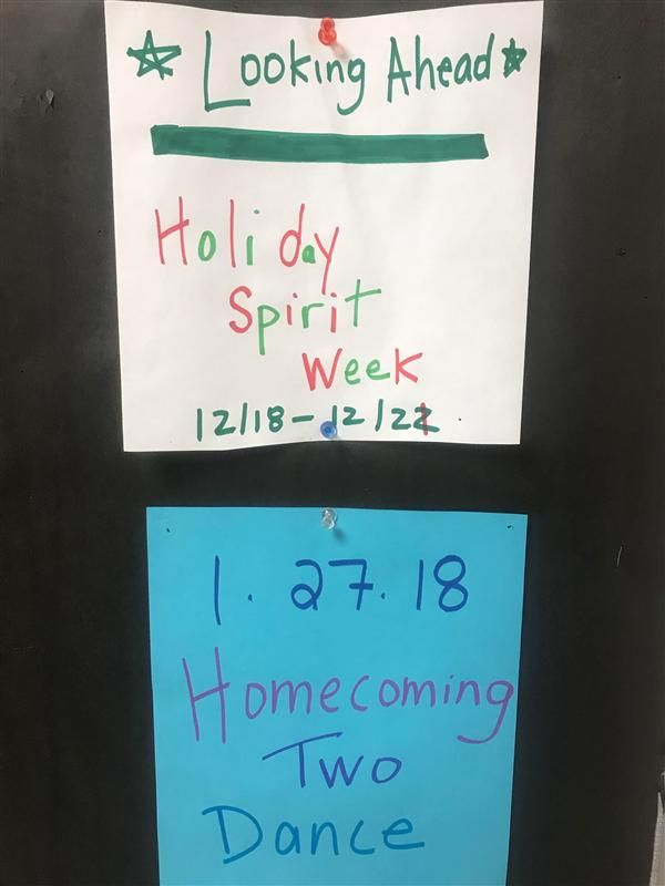 SPIRIT WEEK BEGINS MONDAY, DEC. 18