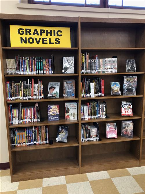 Graphic Novel Section