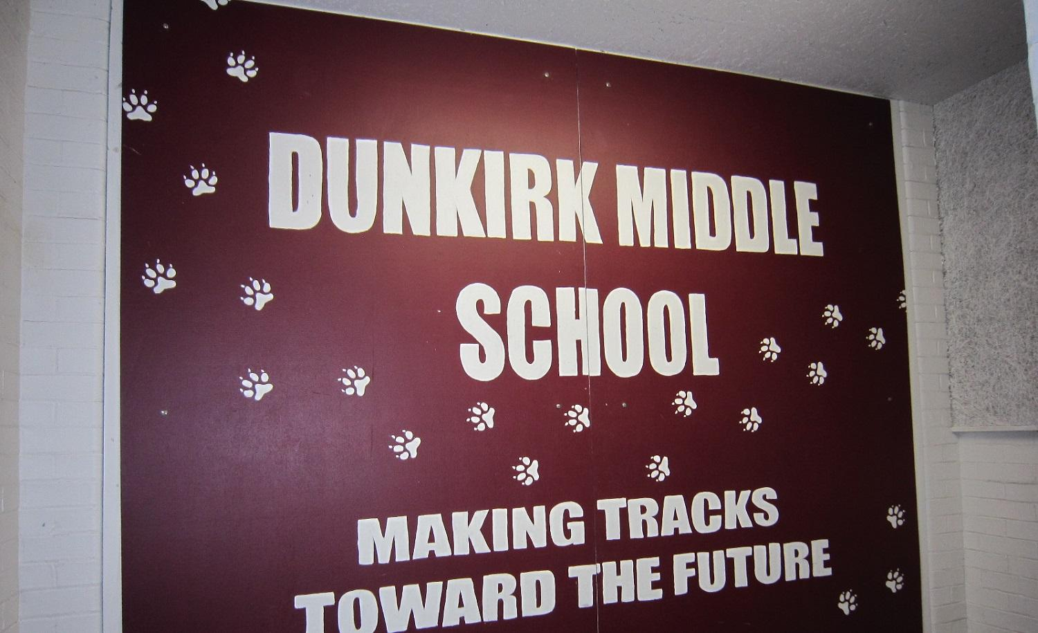 dunkirk middle school homework hotline